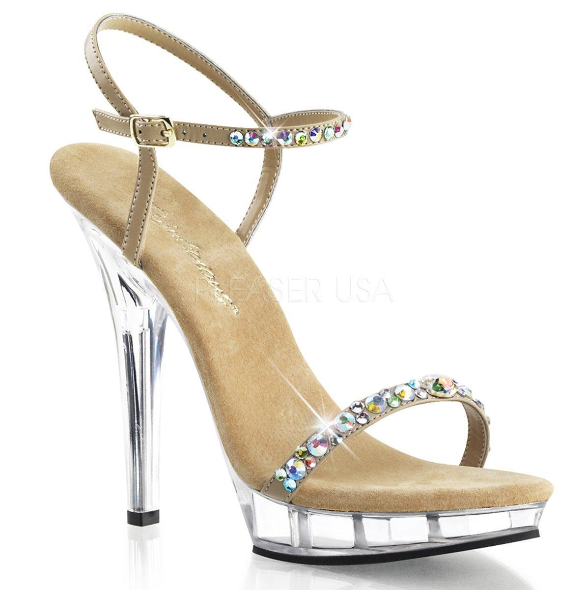 f394770c8bdb LIP-131 Elegantní zlaté společenské sandálky s třpytivými pásky na vysokém  podpatku