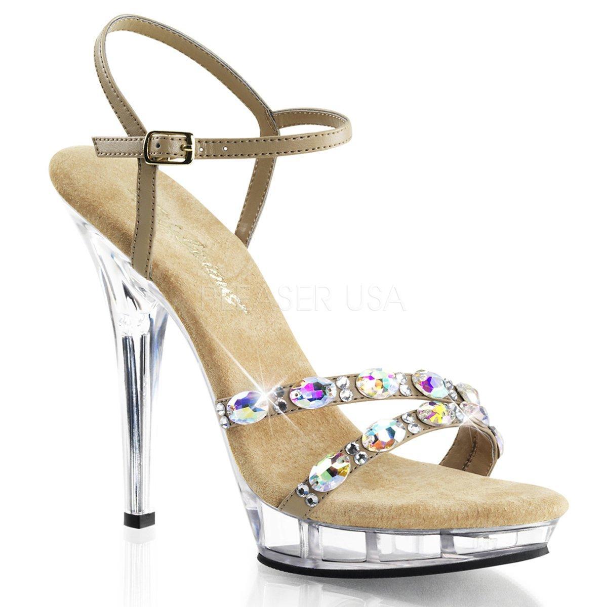 b44fd4c9e8 LIP-133 Elegantní zlaté společenské sandálky s pásky posázenými kameny