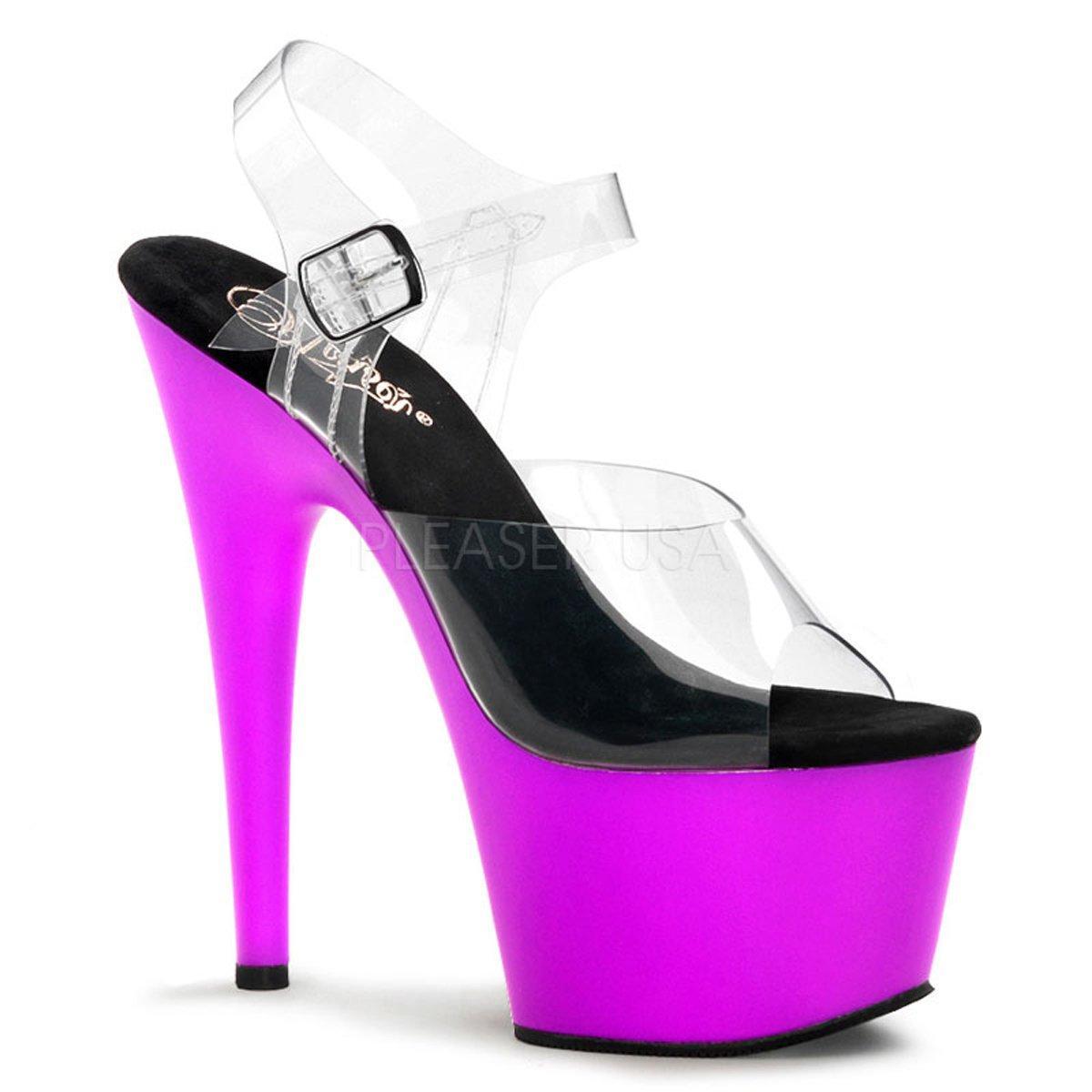 8fe6e0079e68 ADORE-708LS Černé taneční sexy sandálky s kamínky na extrémním ...